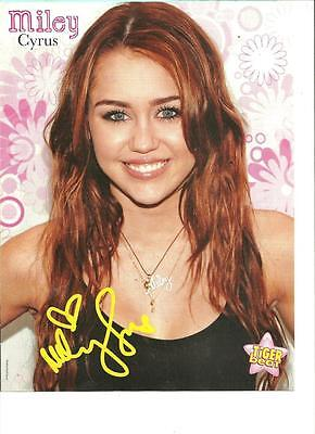 Miley Cyrus, Jake T. Austin, Double Sided Full Page Pinup
