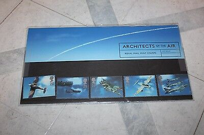 Architects of the Air Royal Mail Mint Postage Stamps UK United Kingdom unused
