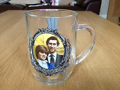 The Prince Of Wales & lady Diana Marriage Pint Glass Collection
