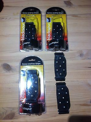 Snow grips for shoes. 4 Pairs. Brand New.