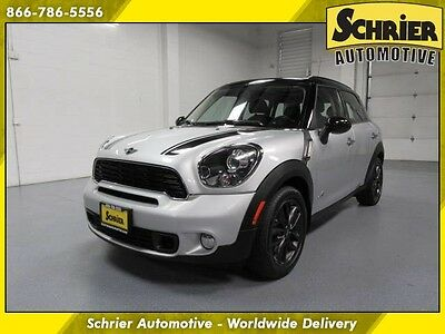 2012 Mini Cooper S S ALL4 Hatchback 4-Door 12 Mini Cooper Silver AWD Automatic HID 5 Passenger Cargo Cover