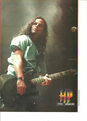 Type O Negative, Full Page Pinup