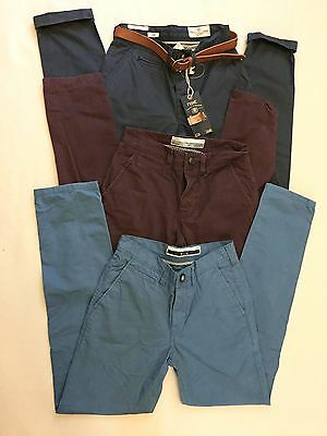 Mens Bundle of 3 Pairs NEXT ' SLIM'  Chino's / Jeans Size 26 Reg Exc Cond