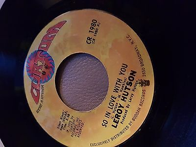 Leroy Hutson - So in love with you - Curtom Rec. - Soul 45