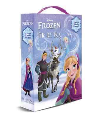 """Frozen, """"the Ice Box"""" Board Book Set, 4 Books In Carrier, New In Box"""