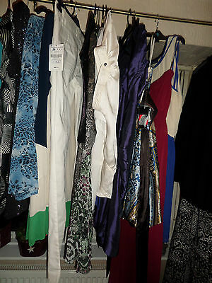 Job Lot Of 20 Mixed Ladies Clothes Up To Size 20