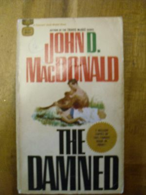 The Damned  By John D MacDonald     Gold Medal Book