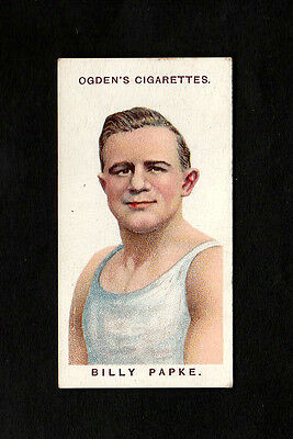 """Ogden's 1915 Superb Scarce ( Boxing ) Type Card """" # 34 Billy Papke -- Boxers """""""