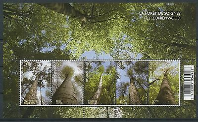 [STG1224] Belgium 2009 Forest - Trees  good sheet very fine MNH