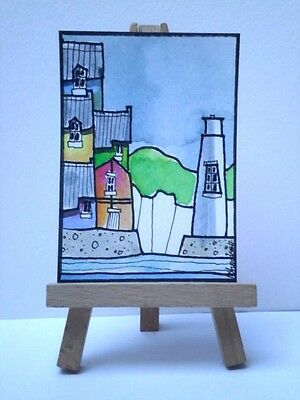 Original Watercolour Painting ACEO -  Calm Day