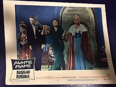 AUNTIE MAME Lobby Card ROSALIND RUSSELL and Vera Charles