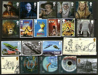 Great Britain 2010-11  sheet to 97p used