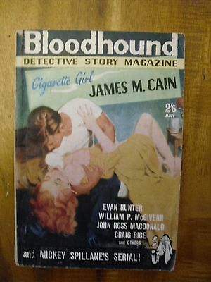 Bloodhound  Detective Story Monthly  July  1961  Evan Hunter  story
