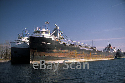 Original slide, Great Lakes vessel CANADIAN TRANSFER 2002