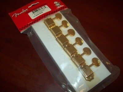 NEW Genuine Fender Vintage Style Tuning Keys For Mexican Reissues - GOLD