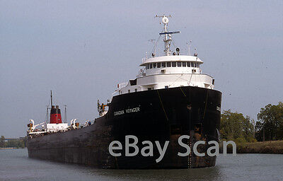 Original slide, Great Lakes vessel CANADIAN VOYAGER 1999 Welland Canal