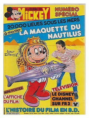 JOURNAL DE MICKEY 1702  BE+ (sans maquette nautilus)
