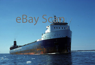 Original Kodachrome slide, Great Lakes vessel RALP MISENER 1978