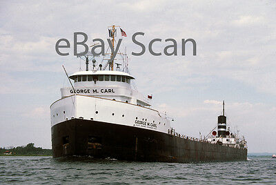1 original Kodachrome slide, Great Lakes vessel GEORGE M CARL 1976
