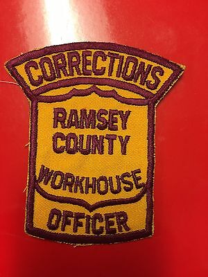 Ramsey County Minnesota  Workhouse Officer  Corrections  Shoulder Patch