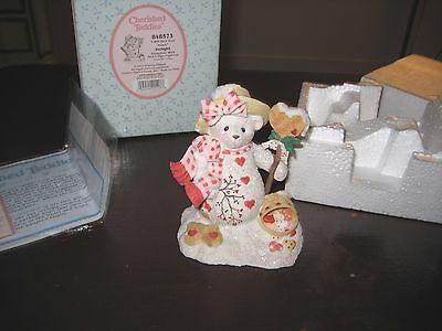 2001 Cherished Teddies - Delight - I Will Melt Your Heart - # 848573