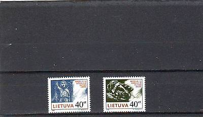 Lithuania - Sg621-622 Mnh 1996 Day Of Morning & Hope