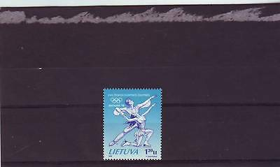 Lithuania - Sg668 Mnh 1998 Winter Olympic Games Nagano