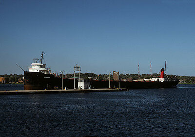 Original Kodachrome slide, Great Lakes vessel GODERICH 1973