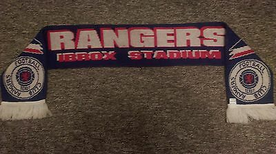 Glasgow Rangers Schal Scarf # Old Firm Derby / Ibrox / Celtic
