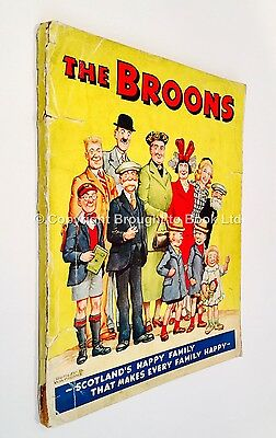 The Broons Book 1950 - Published by DC Thomson 1949 Book 4