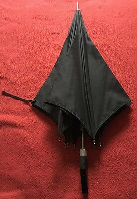 Vintage Mourning Umbrella - Black Ladies Umbrella