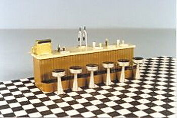 Berkshire Valley 456 O Counter w/Stools & Accessories Set