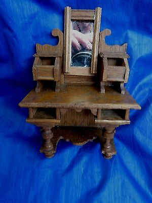 DOLLS' HOUSE MINIATURES - GERMAN DRESSING TABLE- 1920's/1930's?