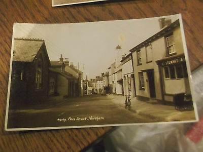 Northam Devon -   Old Real Photo Postcard Of Fore Street