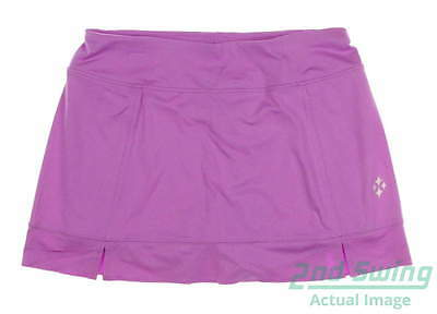 New Womens Jo Fit Pearl Tennis Skort Size Medium M Purple MSRP $100