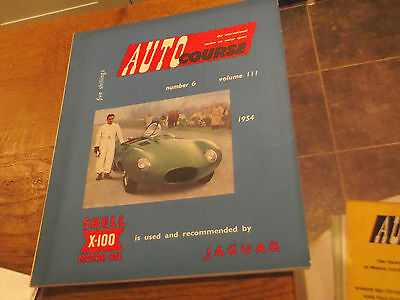 1954 Autocourse Magazine Number 6 Vol Iii  March 1954