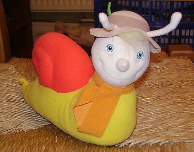 Brian the Snail From the Magic Roundabout Soft Plush Toy Doll Collectable 10""