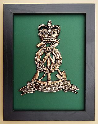Large Scale Framed THE ROYAL PIONEER CORPS BADGE Plaque