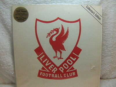 Liverpool FC 1980 gold flexi disc record in picture cover FA Cup Finals FLX 136