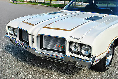 1972 Oldsmobile 442 Hardtop 1972 Oldsmobile 442 Numbers Matching Engine Power Steering Center Console Sweet