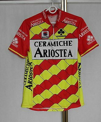 Vintage Colnago Sportful Ceramiche Ariostea Cycling jersey shirt S/M