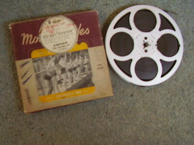 Standard 8mm film.Colonel's Cup. Jean Simmons. Silent.200ft