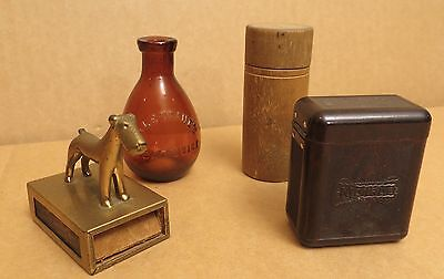 Miscellaneous Lot of Four (4) Small Collectibles
