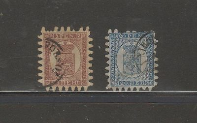 oldhal-Finland-Great Lot of Classic Stamps- Lot of 2