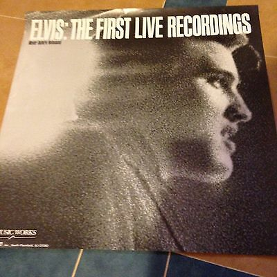 Elvis The First Live Recordings Poster Photo By Alfred Werthimer 1979