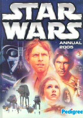 Star Wars Annual 2005 by Anon Hardback Book The Cheap Fast Free Post