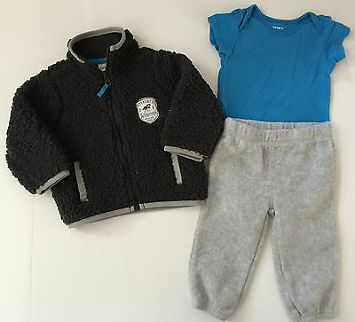 Carter's Infant Boys 6 Months 3-Piece Outfit Set