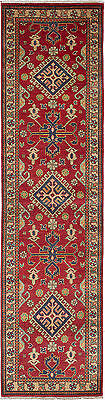 """Hand-knotted Carpet 2'6"""" x 10'4"""" Traditional  Wool Runner Rug"""