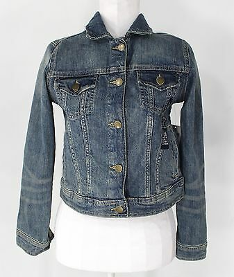 New With Tags Girl's GAP KIDS Blue Cotton Blend Jacket Size XL