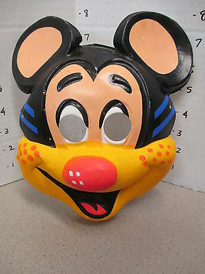 halloween mask 1960s Mickey MOUSE cartoon comic book character